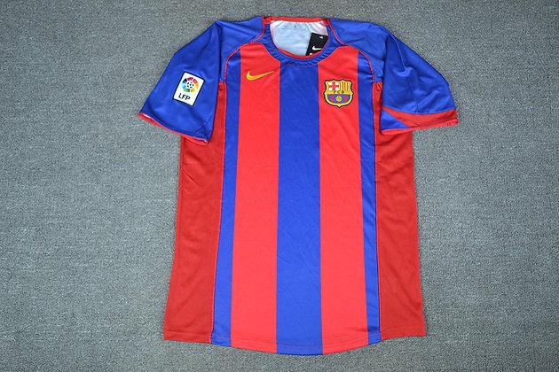 Maglia Storica Barcellona Home 04-05