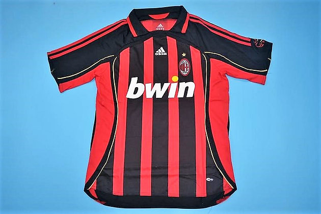 Divisa Storica Milan Home 06-07