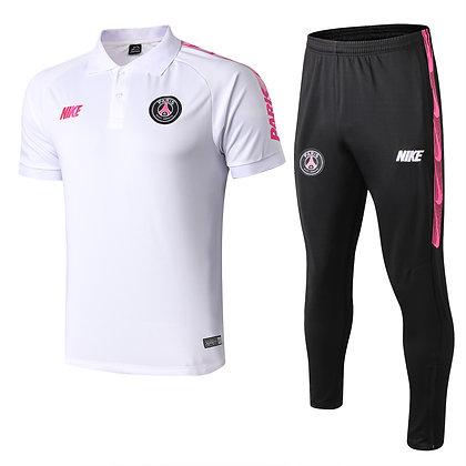 Set Polo PSG - White/Black