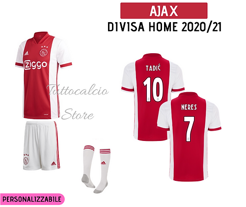 Divisa Home Ajax - 20/21