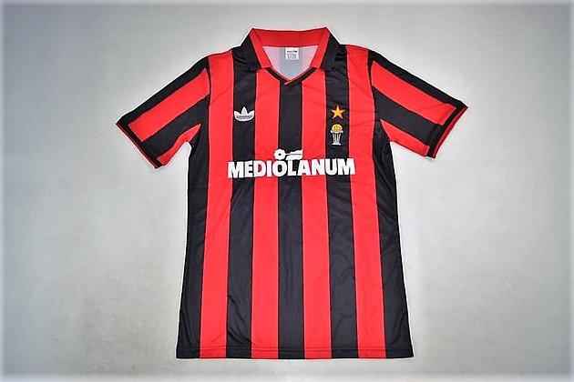 Maglia Storica Milan Home 90-91 Intercontinental Cup