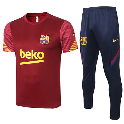 Set Training Barcellona - Red/Navy
