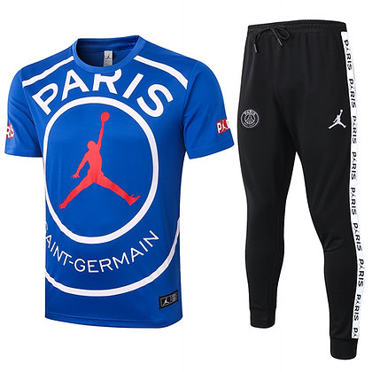 Set Training PSG Jordan - Blue/Black
