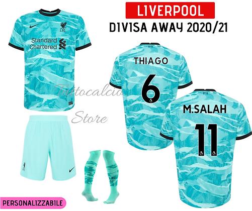 Divisa Away Liverpool 20/21