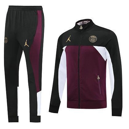 "Tuta ""Warrior"" PSG 2021 - Purple/Black"