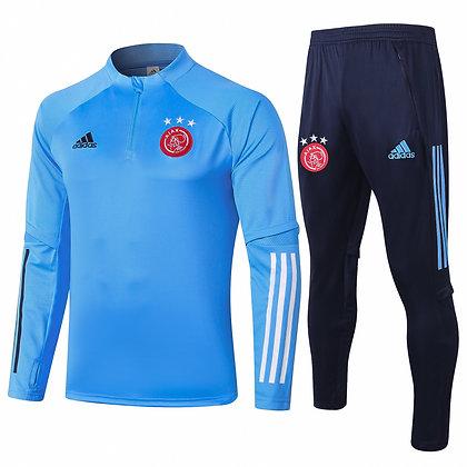 Tuta Training Ajax 2021 - Light blue