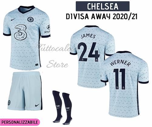 Divisa Away Bambino Chelsea 20/21