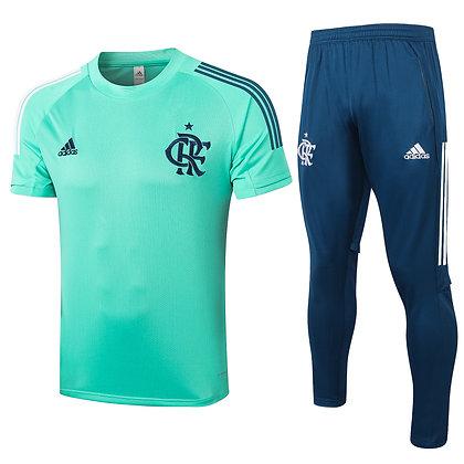Set Training Flamengo - Turquoise/Navy