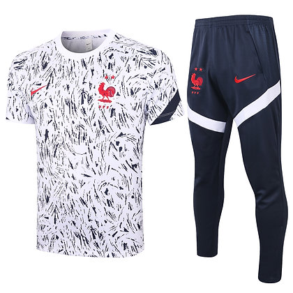 Set Training Francia - White/Black