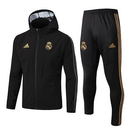 Set Antivento Real Madrid - Black