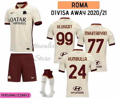 Divisa Away Bambino Roma 20/21