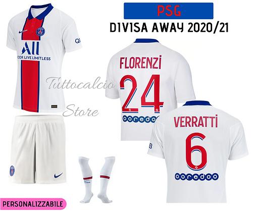 Divisa Away PSG 20/21