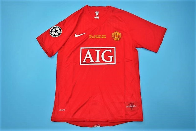 Maglia Storica Manchester United Home 07/08 UCL Final
