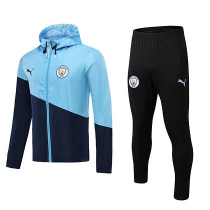 Set Antivento Manchester City - Light Blue/Black