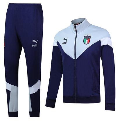 Tuta *Square* Italia - Blue/Gray