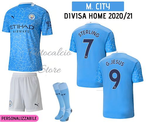 Divisa Home Manchester City 20/21