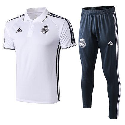 Set Polo Real Madrid - White/Black