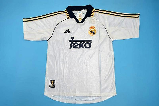 Maglia Storica Real Madrid Home 99-00