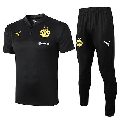 Set Polo Borussia Dortmund - Black