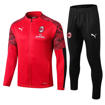 Tuta Rappresentanza Milan - Red/Black
