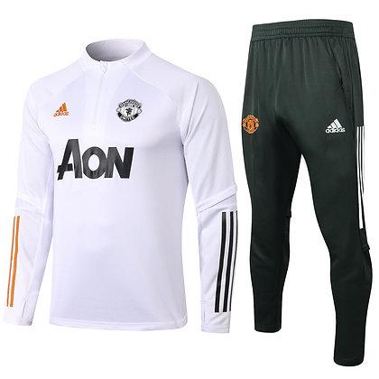 Tuta Training Manchester United 2021 - Black & White