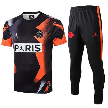 Set Training PSG Jordan - Black/Orange