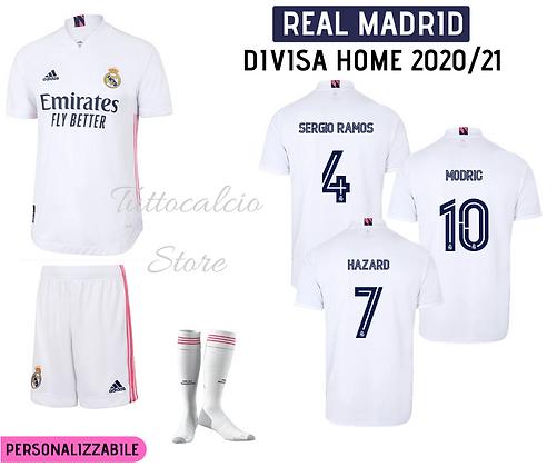 Divisa Home Real Madrid 20/21