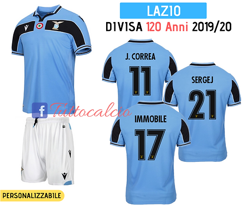 Divisa 120 Anni - Lazio 19/20