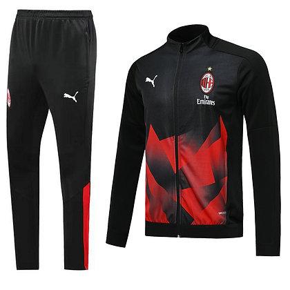 Tuta Rappresentanza Milan - Black/Red