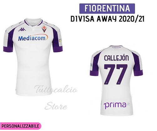 Maglia Away Fiorentina - 20/21