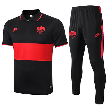 Set Polo Roma - Black/Red