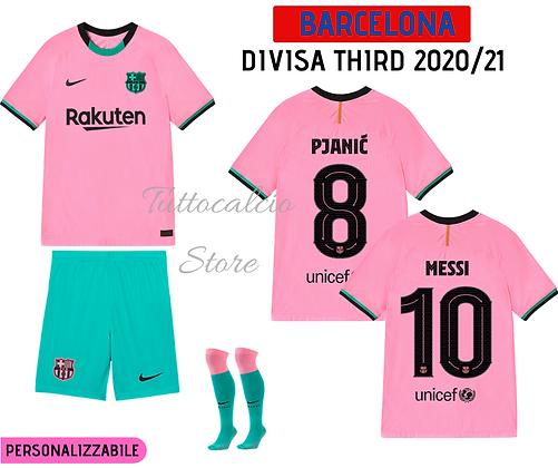 Divisa Third Barcellona 20/21