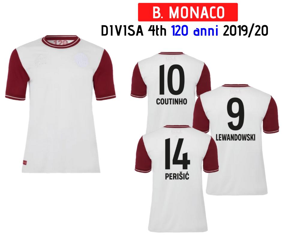 Divisa 4th - 120 Anni - Bayern Monaco 19/20   TuttoCalcio