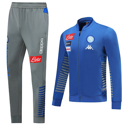 Tuta Rappresentanza Napoli - Light Blue/Gray