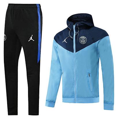 Set Antivento Jordan - PSG - Blue
