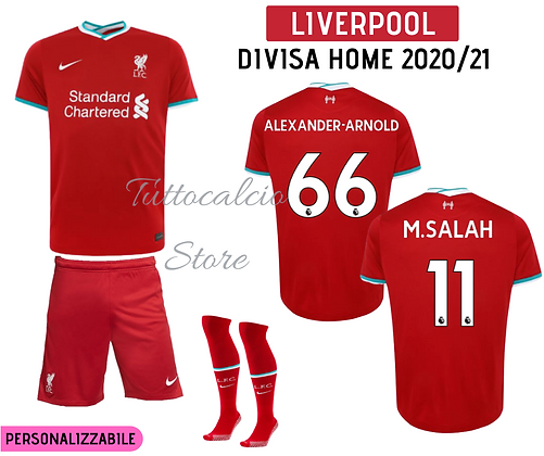 Divisa Home Liverpool 20/21
