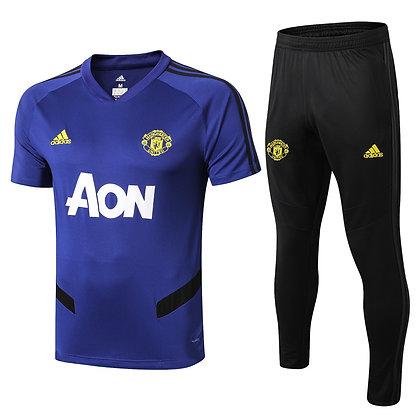 Set Training Manchester United - Blue/Black