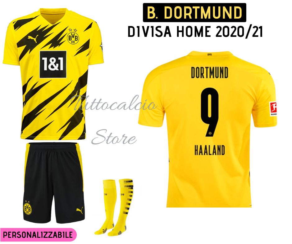 Divisa Home Borussia Dortmund 20/21 | TuttoCalcio