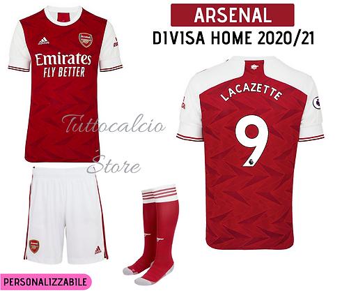 Divisa Home Arsenal 20/21