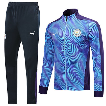 Tuta Rappresentanza Manchester City - Light Blue/Black