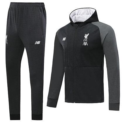 Tuta Rappresentanza con Cappuccio Liverpool - Black