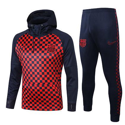 Tuta SportWear Cap Barcellona -Blue/Red