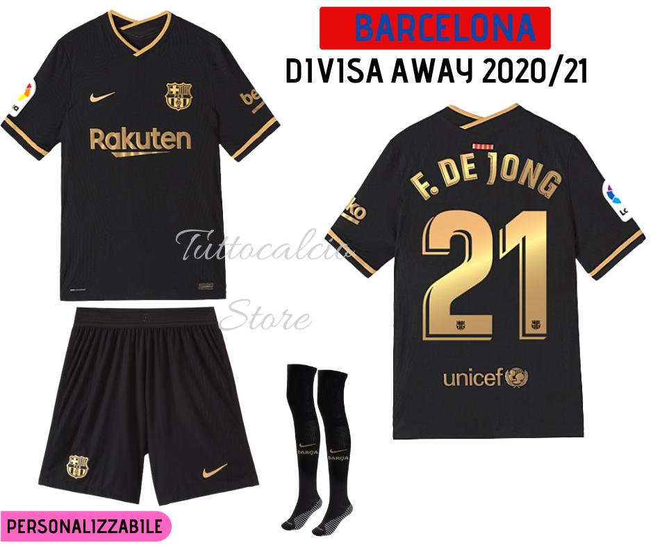 Divisa Away Barcellona 20/21