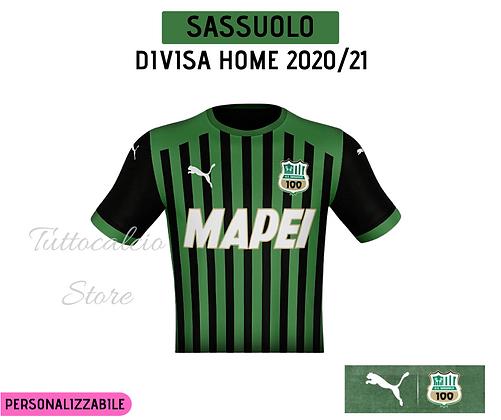 Divisa Home Sassuolo - 20/21