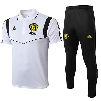 Set Polo Manchester United - White/Black