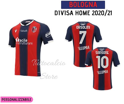 Divisa Home Bologna - 20/21