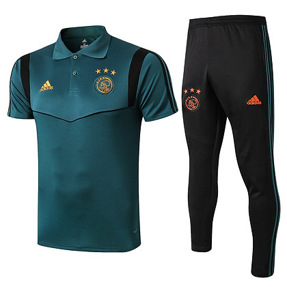 Set Polo Ajax - Green/Black