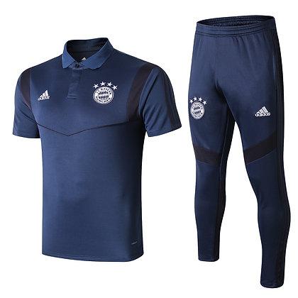 Set Polo Bayern Monaco -Blue