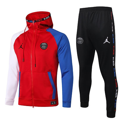 "Tuta Fleece ""National"" PSG 2021 - Red"