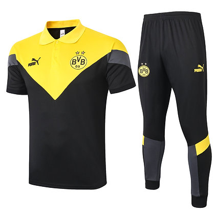 Set Polo Borussia Dortmund - Black/Yellow
